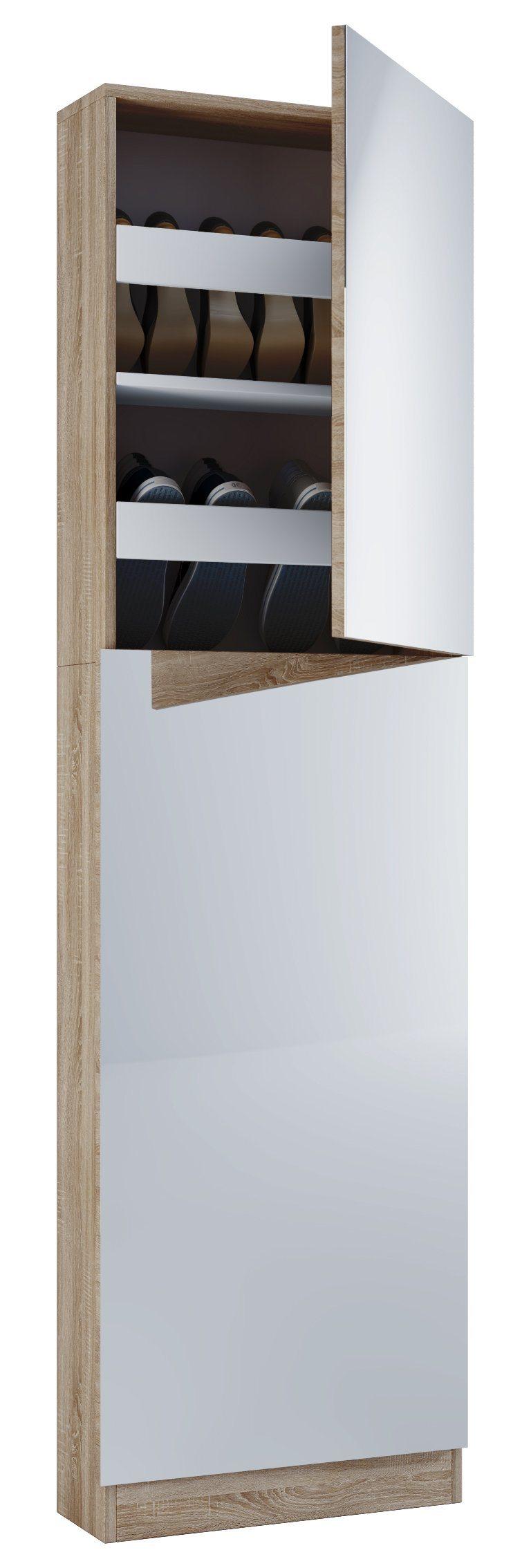 designer schuhschrank mit spiegel preisvergleich die. Black Bedroom Furniture Sets. Home Design Ideas