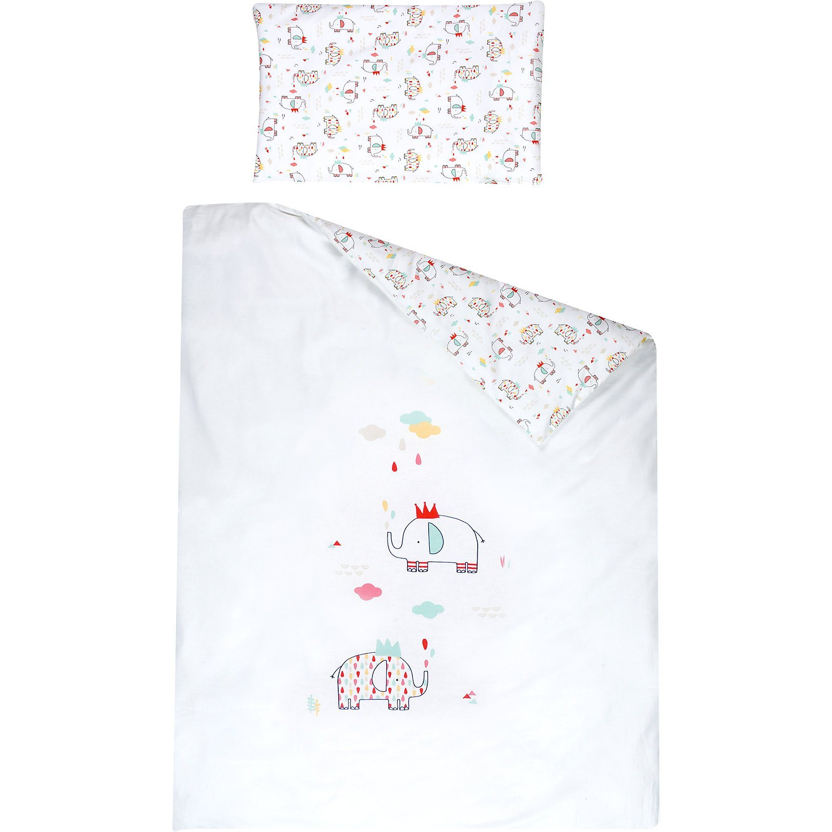 Schardt Wende- Kinderbettwäsche Elli, 100 x 135 cm | Kinderzimmer > Textilien für Kinder > Kinderbettwäsche | Baumwolle | Schardt