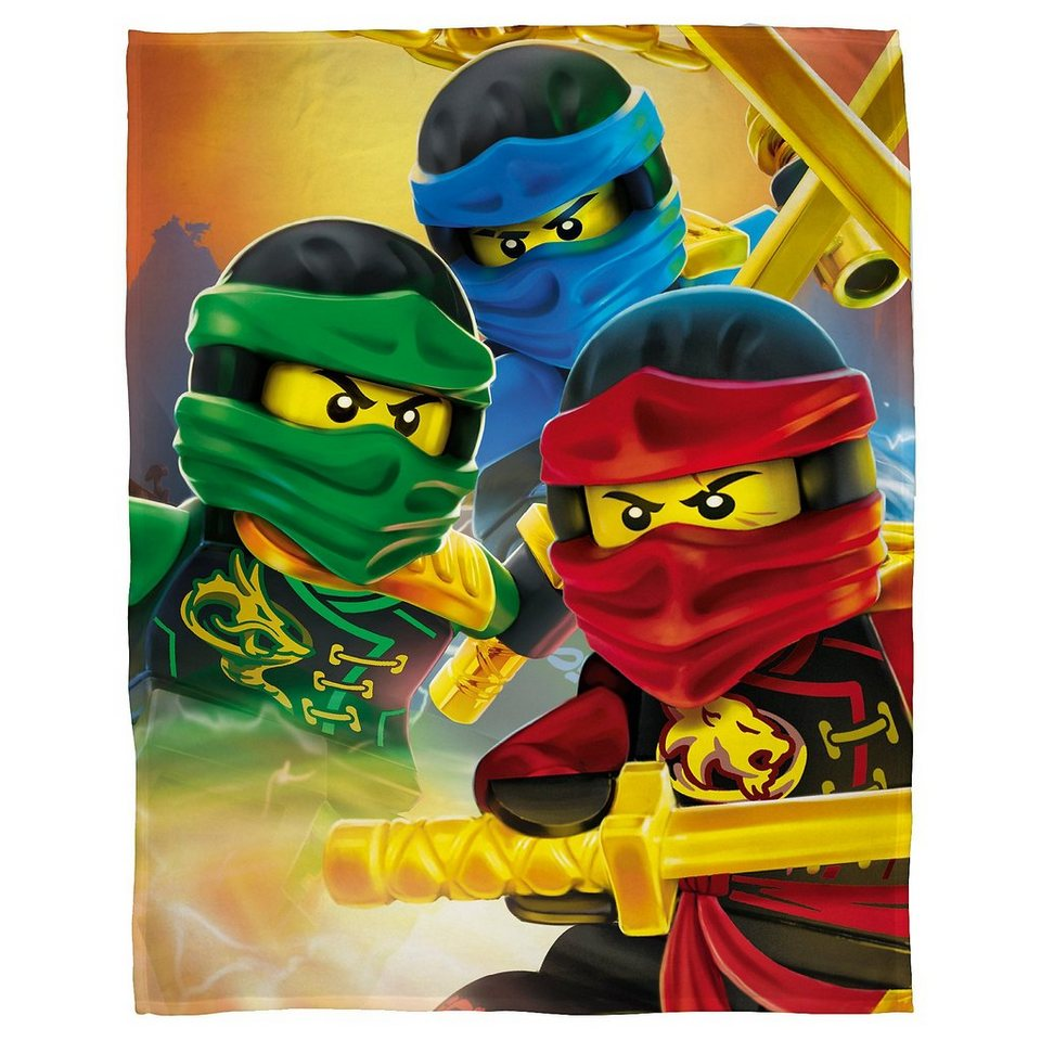 Kuscheldecke Lego Ninjago 120 X 150 Cm Kaufen Otto