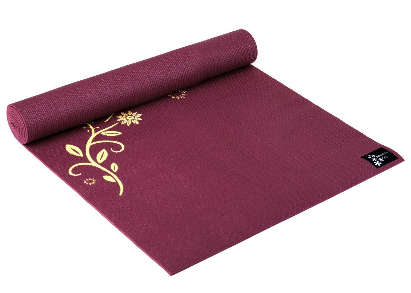 Yogistar Yogamatte »Basic Indian Flower«