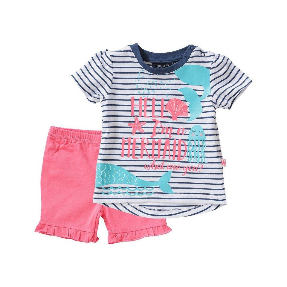 6f05bf0874481d Blue Seven Baby Set Shorts + T-Shirt für Mädchen