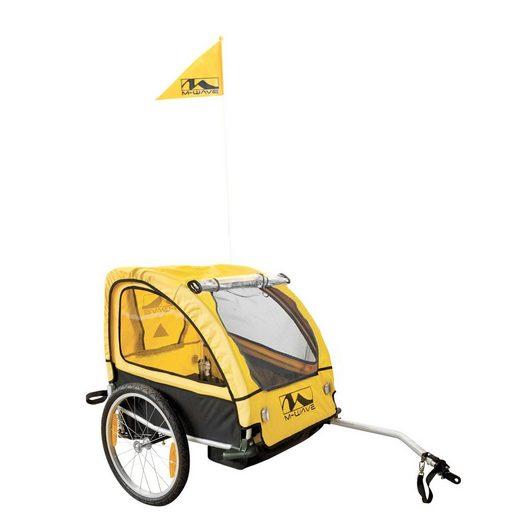 M-WAVE Kinder-/Gepäckanhänger »Kids Ride Comfort SUS«