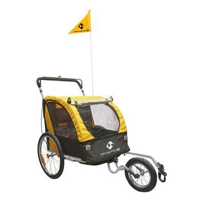 M-WAVE Kinder-/Gepäck-/Jogginganhänger »Kids Ride 3 in 1«