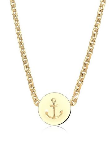 Elli Collierkettchen »Anker Maritim Hafen Infinity 925 Silber«