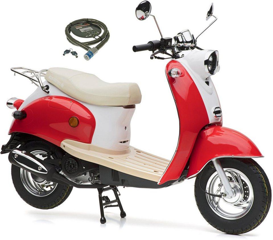 nova motors motorroller retro star 49 ccm 45 km h euro 4 online kaufen otto. Black Bedroom Furniture Sets. Home Design Ideas