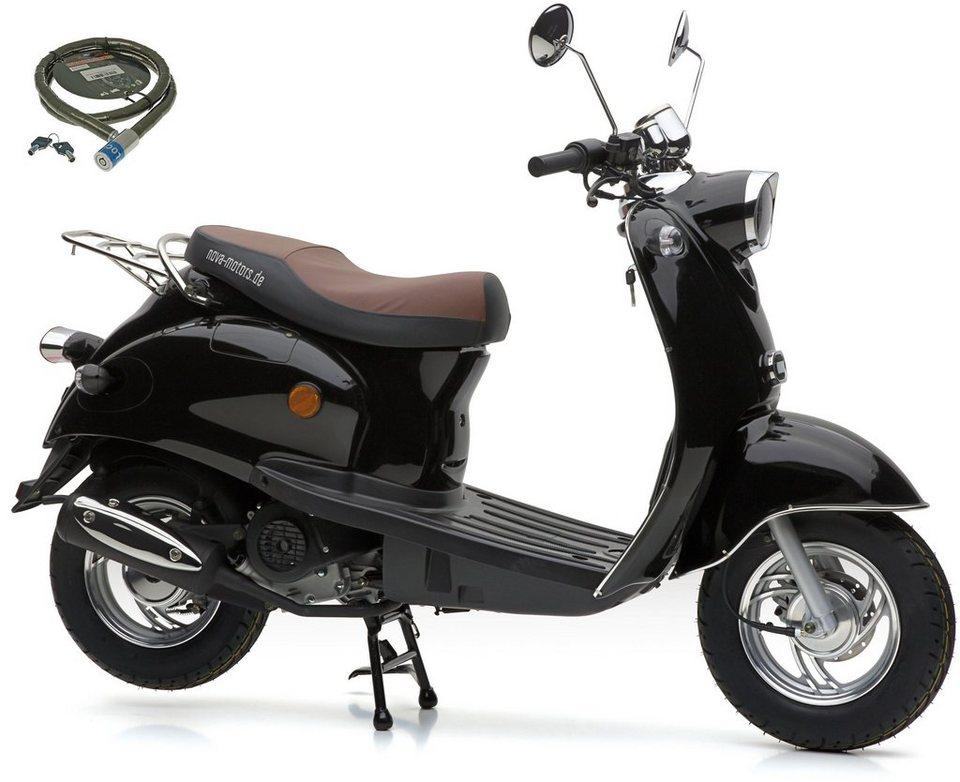 nova motors mofaroller retro star 49 ccm 25 km h euro. Black Bedroom Furniture Sets. Home Design Ideas