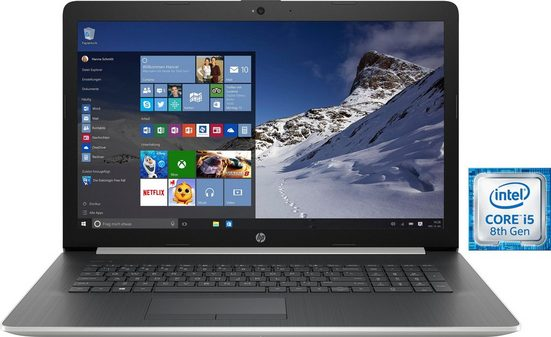 HP 17-by0016ng Notebook (43,9 cm/17,3 Zoll, Intel Core i5, 1000 GB HDD, 256 GB SSD, inkl. Office 365 Personal (ESD)