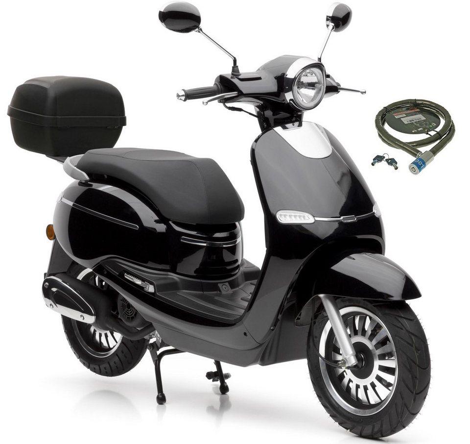 nova motors motorroller f10 49 ccm 45 km h euro 4 set mit topcase 49 ccm 45 km h. Black Bedroom Furniture Sets. Home Design Ideas