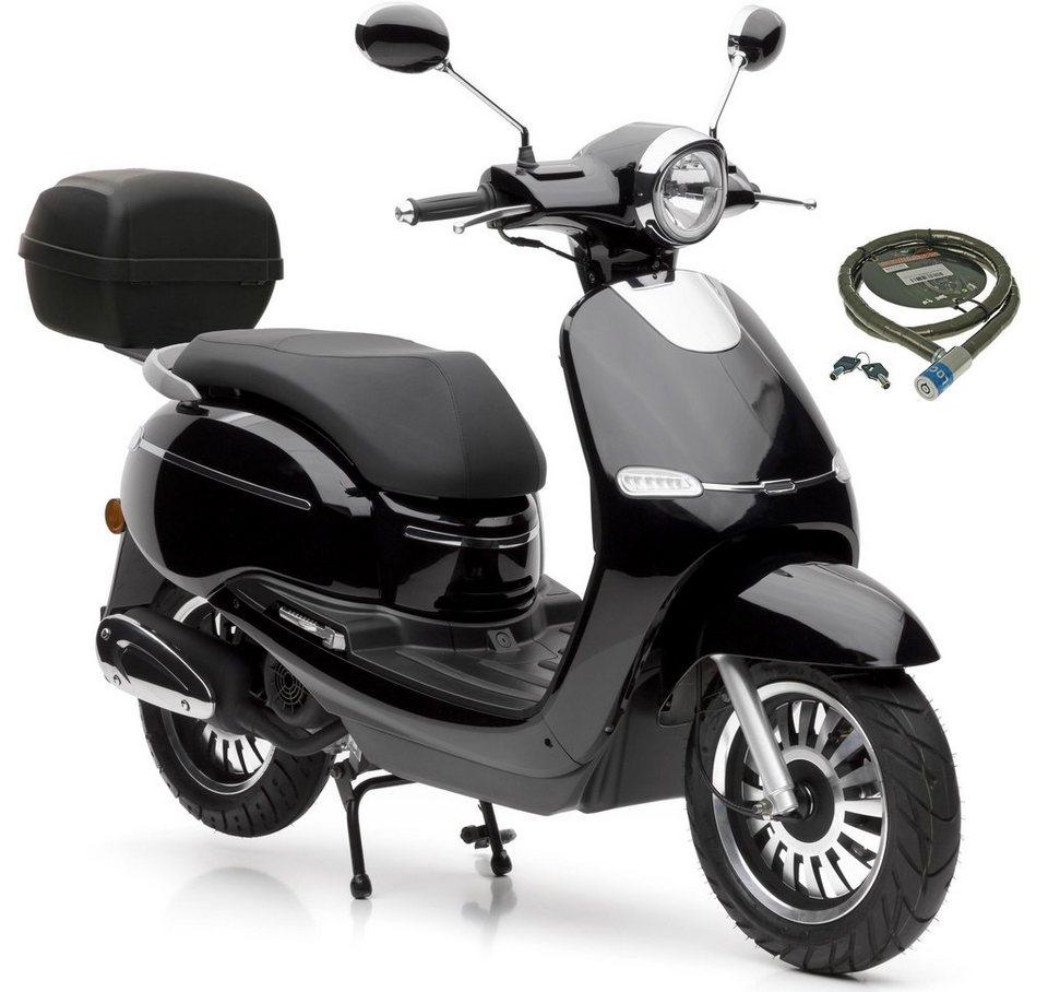nova motors motorroller f10 125 ccm 80 km h set mit topcase inkl topcase 125 ccm 80. Black Bedroom Furniture Sets. Home Design Ideas