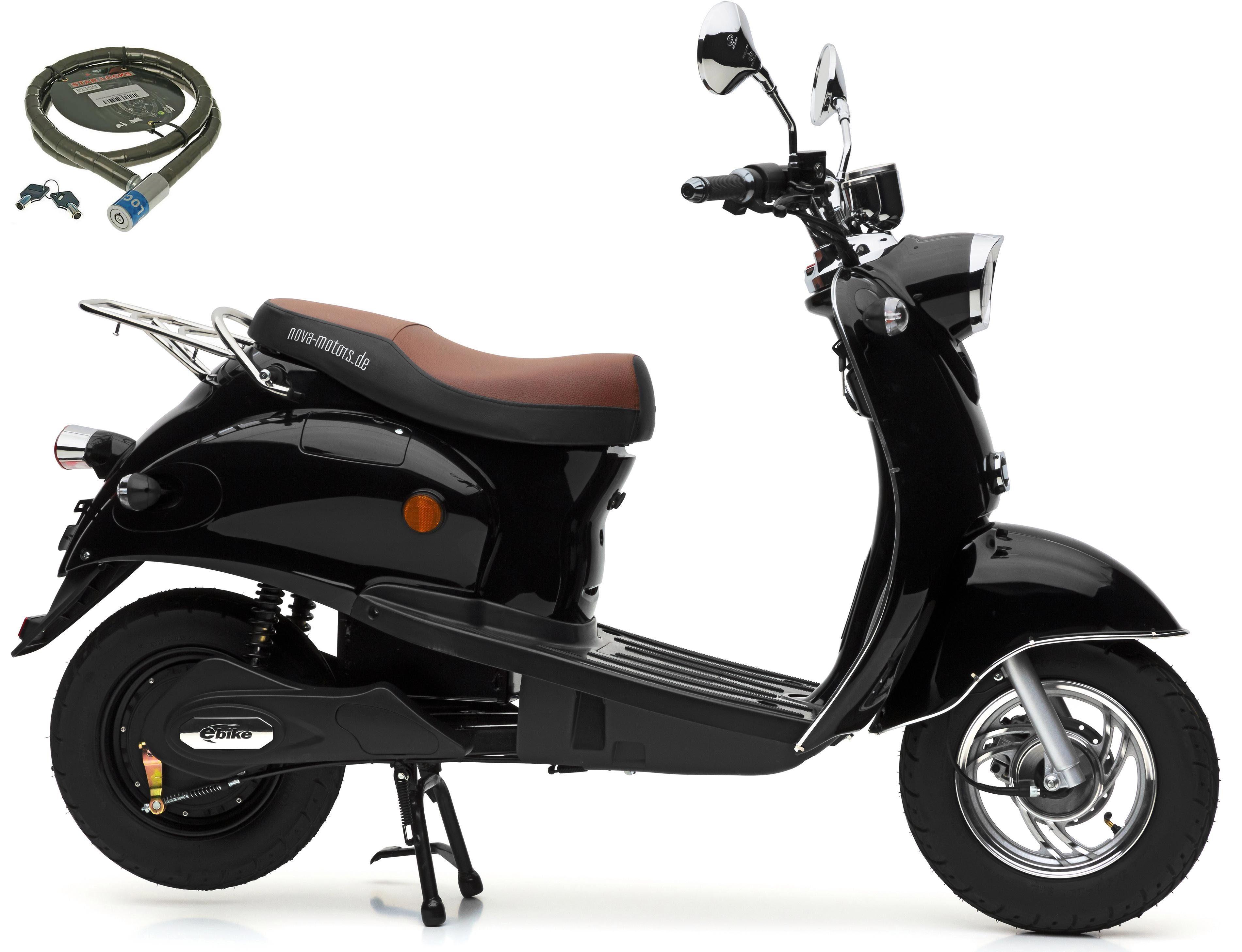 Nova Motors Motorroller »E-Retro Star«, 2000 W, 45 km/h, 2000 Watt, 45 km/h
