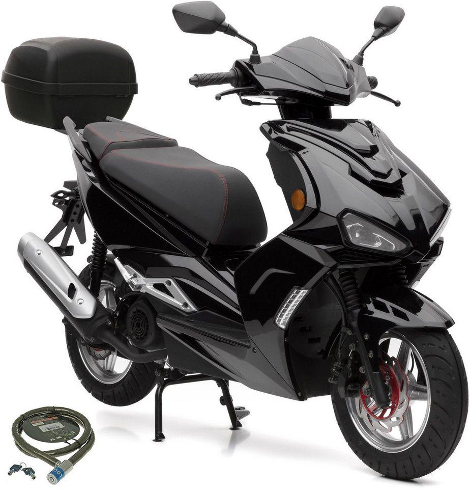 nova motors motorroller sp125i 125 ccm 80 km h euro 4 set mit topcase 125 ccm 80 km h. Black Bedroom Furniture Sets. Home Design Ideas