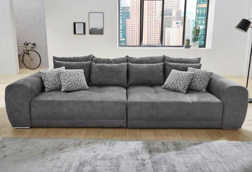 Big Sofa Inklusive Loser Rucken Und Armlehnkissen Online Kaufen Otto