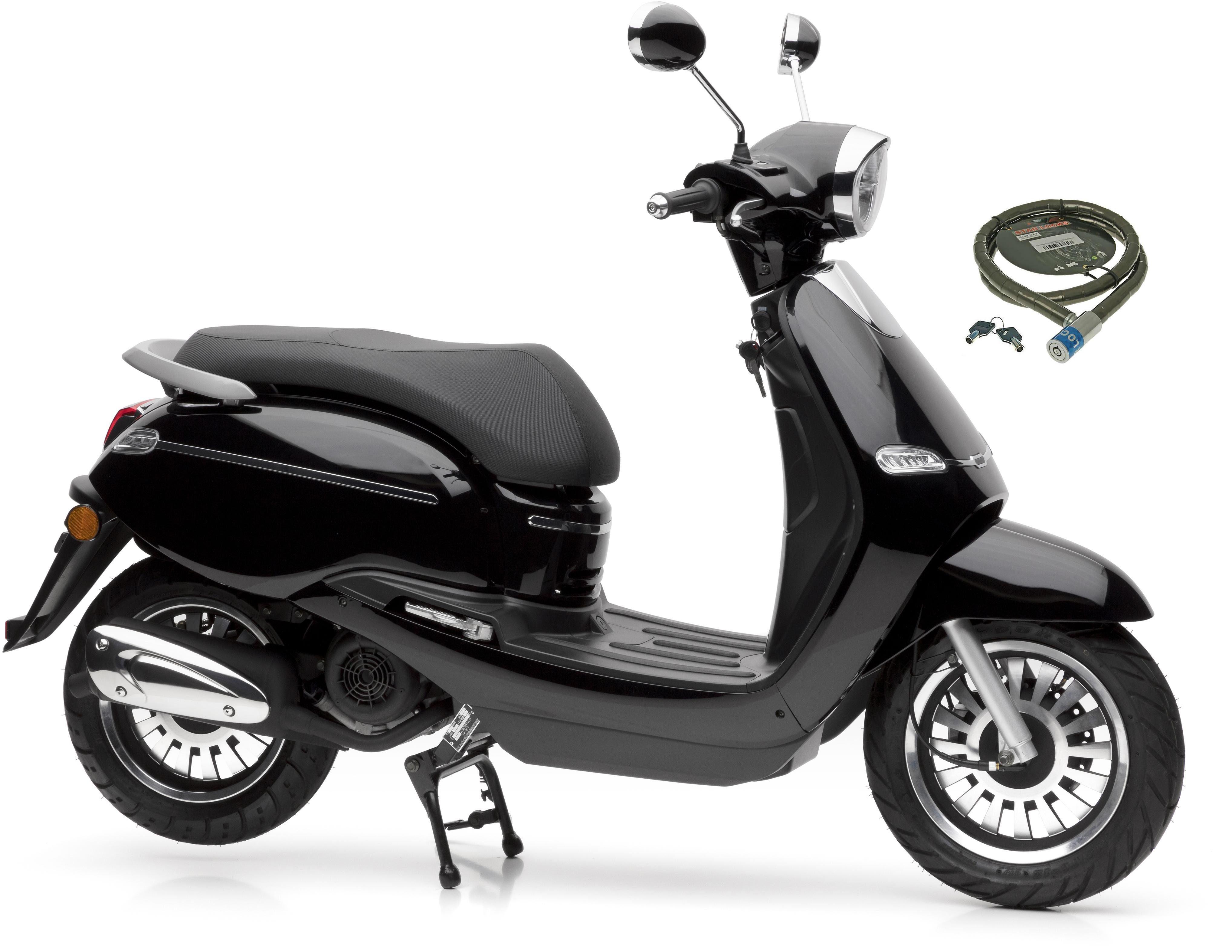 Nova Motors Motorroller »F10«, 125 ccm, 80 km/h, Euro 4, 125 ccm, 80 km/h
