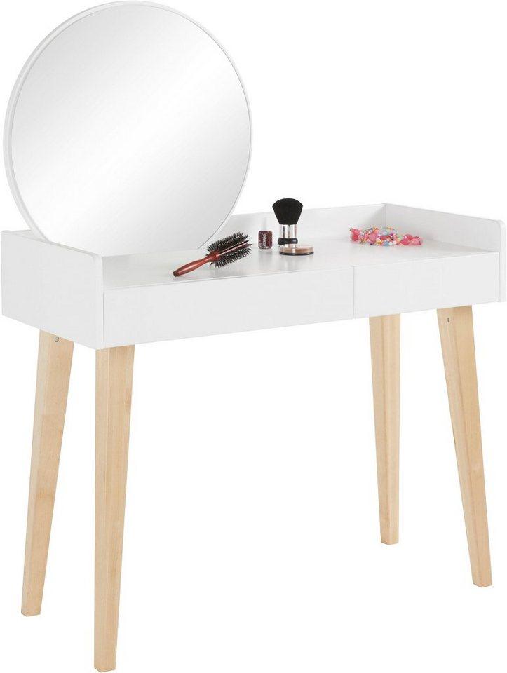 andas schminktisch mit spiegel breite 100 cm otto. Black Bedroom Furniture Sets. Home Design Ideas