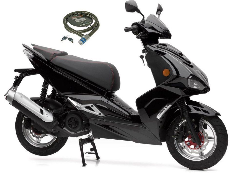 nova motors motorroller sp125i 125 ccm 80 km h euro 4 125 ccm 80 km h online kaufen otto. Black Bedroom Furniture Sets. Home Design Ideas