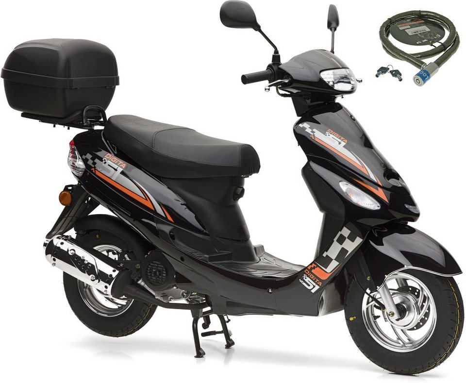 Nova Motors Motorroller »City Star«, 49 ccm, 45 km/h, Euro ...