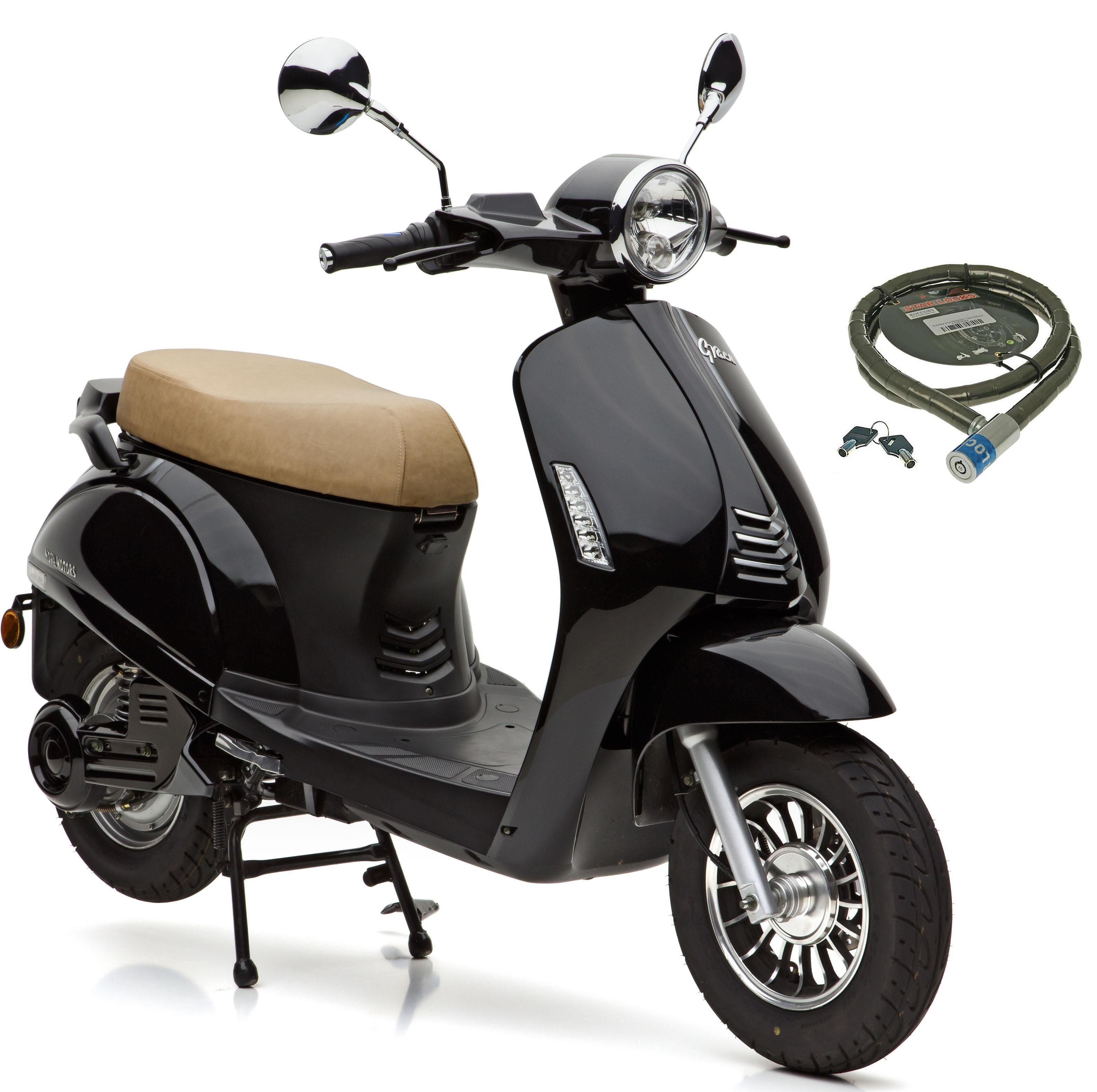 Nova Motors Motorroller »Grace«, 3000 W, 45 km/h, 3000 Watt, 45 km/h