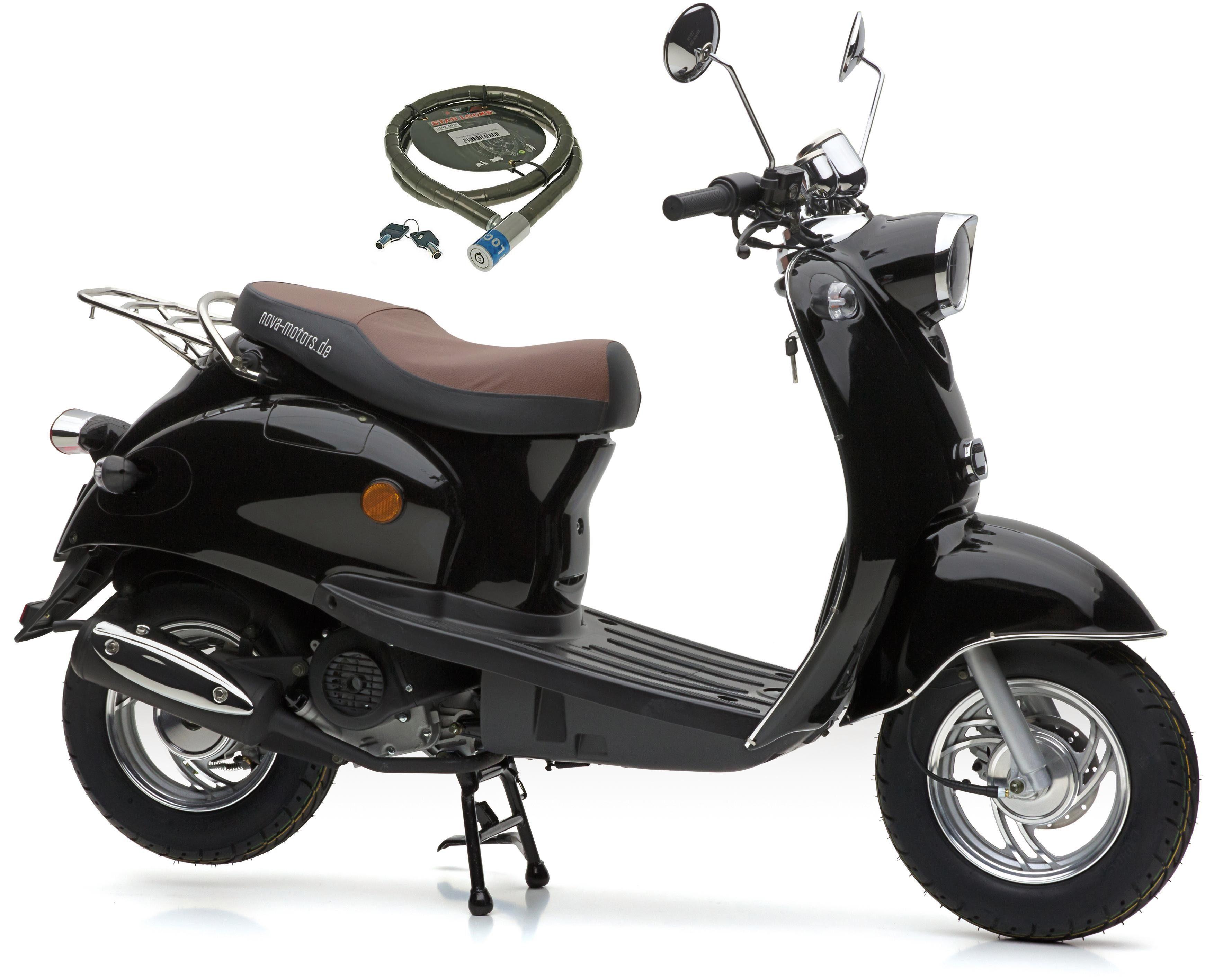Nova Motors Motorroller »Retro Star«, 49 ccm, 45 km/h, Euro 4, 49 ccm, 45 km/h