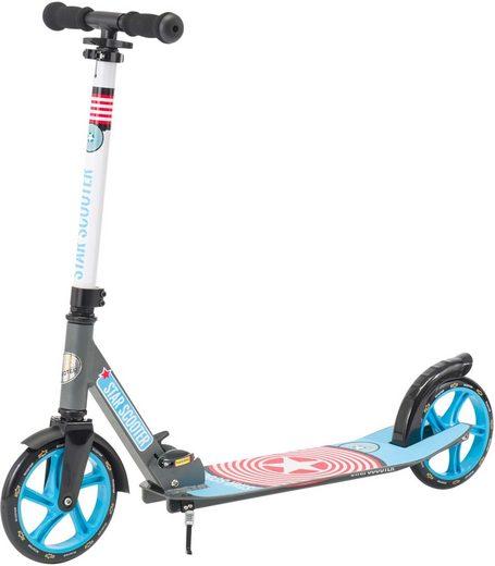 Star-Scooter Cityroller, XXL Trittbrett, Abgesenktes Trittbrett