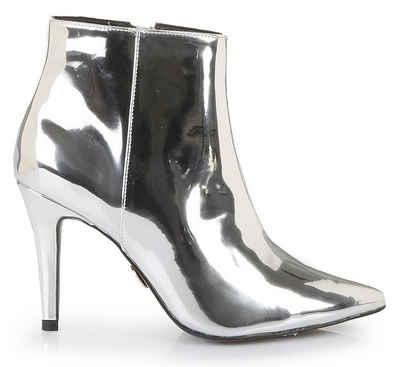 912c4e85b811f7 Buffalo High-Heel-Stiefelette in spitz zulaufender Form