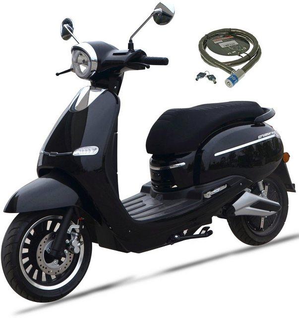 Nova Motors E-Motorroller »F 10«, 2400 W, 45 km/h, Euro 4, mit Bosch Elektromotor*