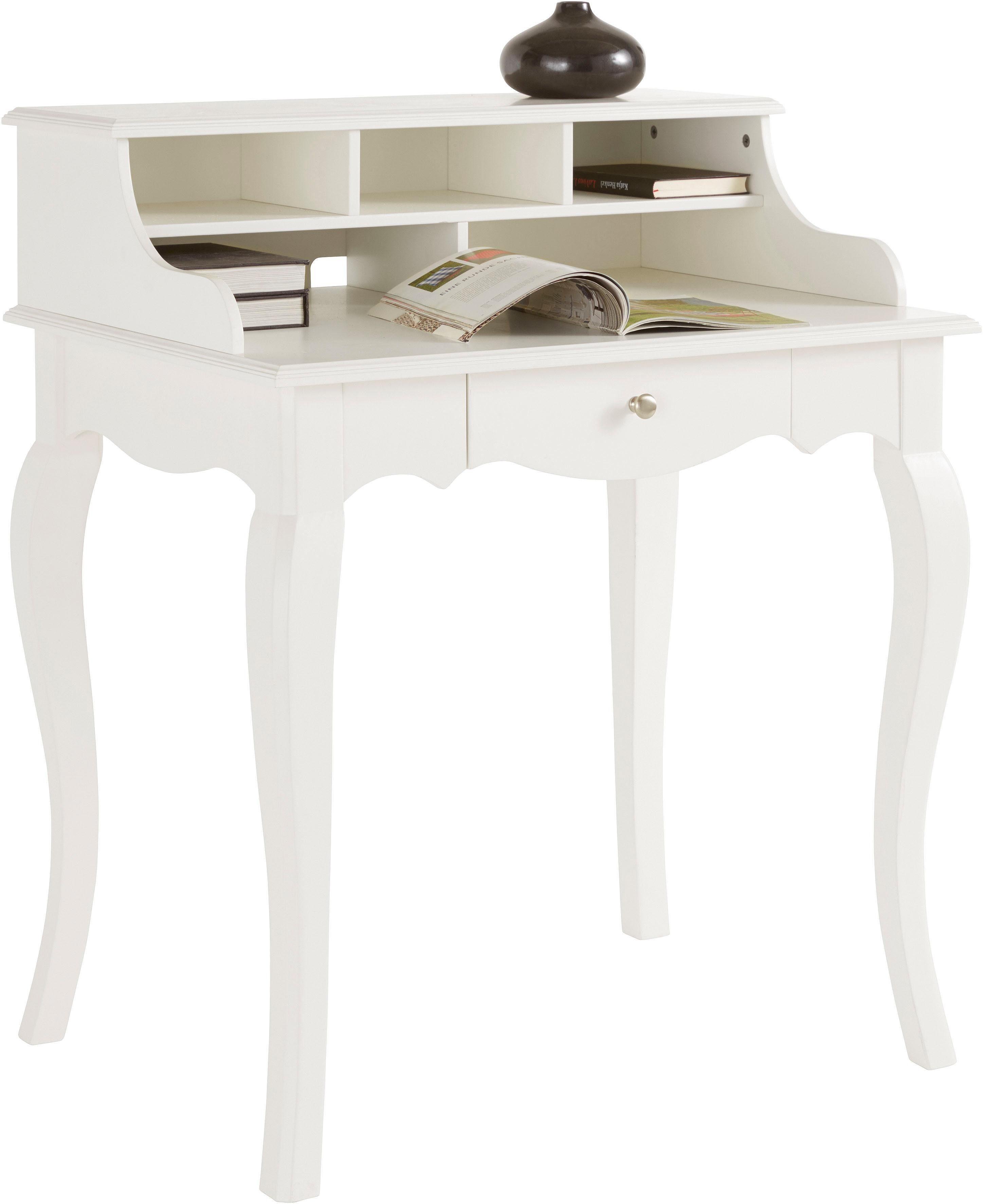 Home affaire Schreibtisch im Landhaus-Stil, Breite 80 cm