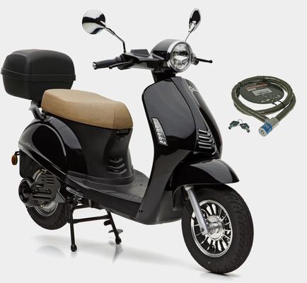 Nova Motors Motorroller »E-Grace«, 3000 W, 45 km/h, (Set, mit Topcase), 3000 Watt, 45 km/h