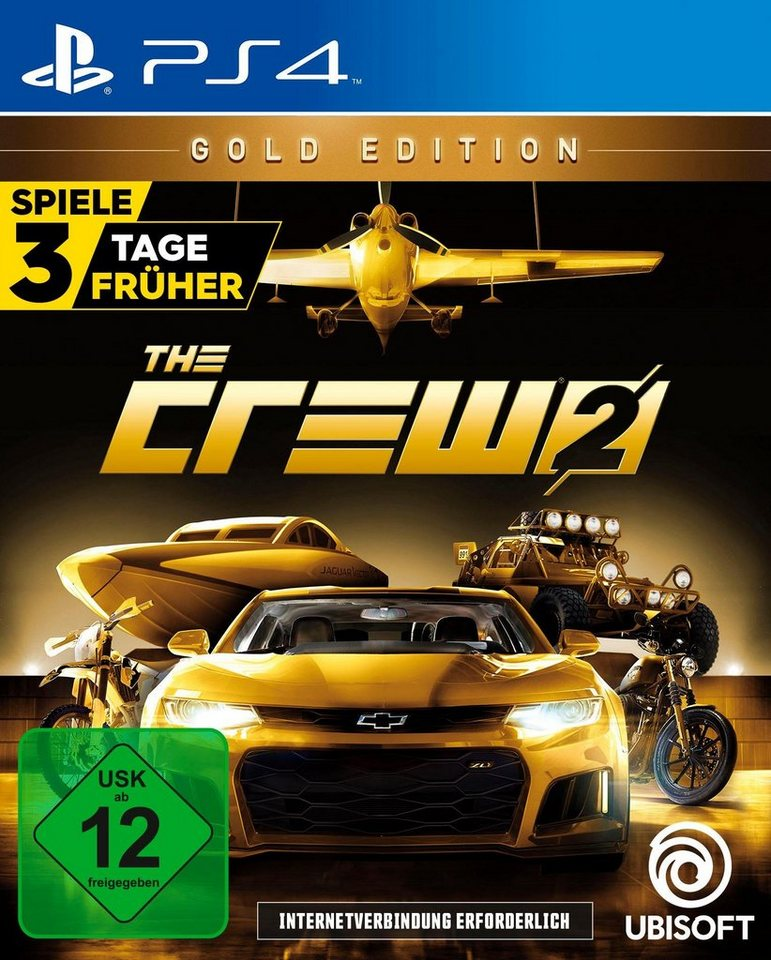 the crew 2 gold edition playstation 4 kaufen otto. Black Bedroom Furniture Sets. Home Design Ideas