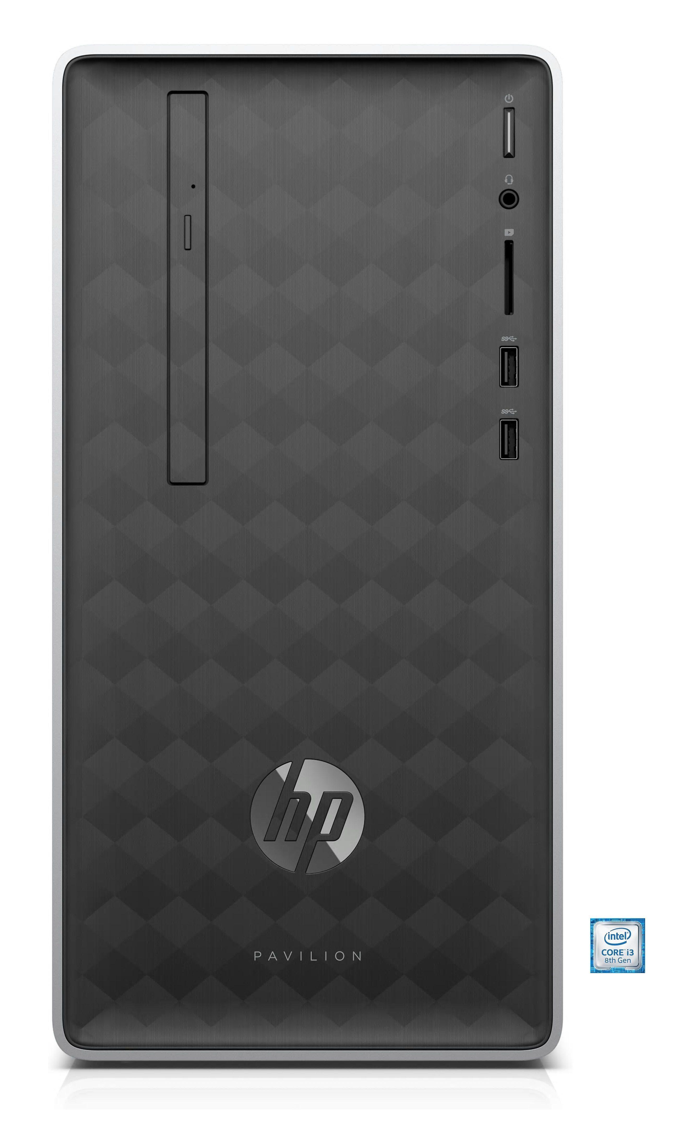 HP Pavilion 590-p0514ng Desktop PC »Intel Core i3, 1 TB + 128 GB SSD, 8 GB«