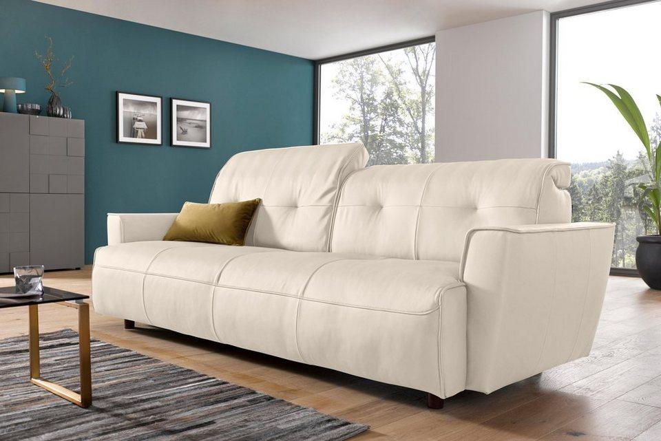 hülsta sofa 4-Sitzer Sofa »hs.400« mit Rückenverstellung, Breite 236 ...
