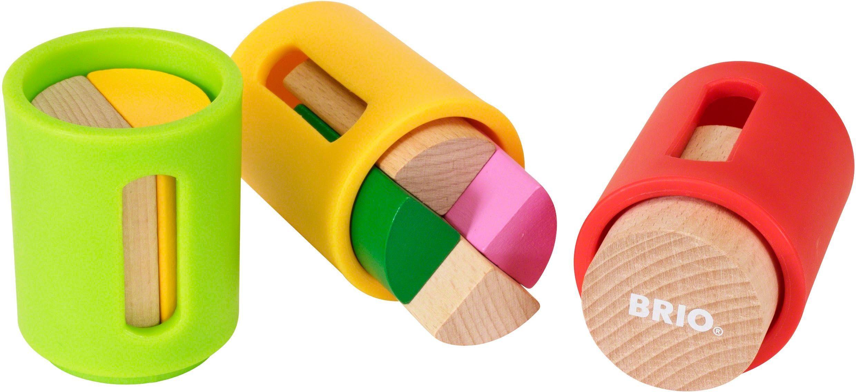 Brio® Stapelspiel aus Holz, »Sortierbare Holzbausteine«