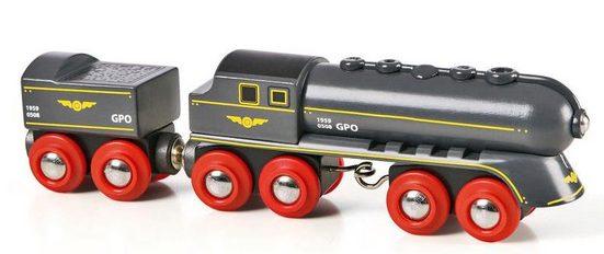 BRIO® Spielzeug-Eisenbahn »BRIO® WORLD Schwarzer Kugelblitz mit Kohlentender«