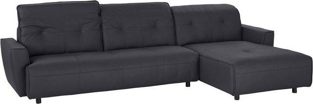 Sofas - hülsta sofa Ecksofa »hs.400«, mit Rückenverstellung, Recamiere wahlweise links oder rechts  - Onlineshop OTTO