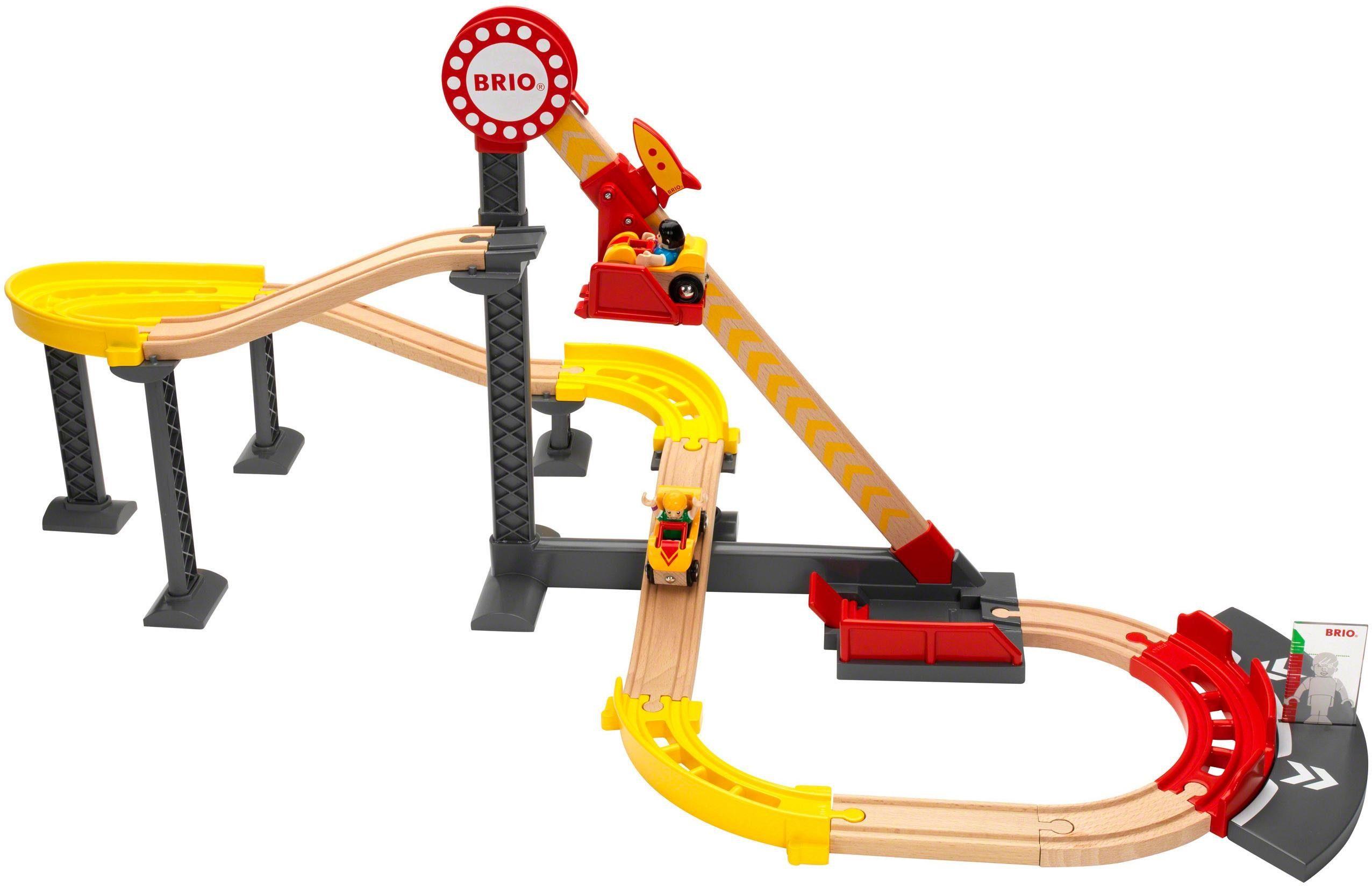 Brio® Holzeisenbahn Set, »BRIO® WORLD Achterbahn Set (Fun Park)«