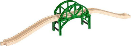 BRIO® Spielzeugeisenbahn-Brücke »BRIO® WORLD Stapelbrücke mit Rampen«