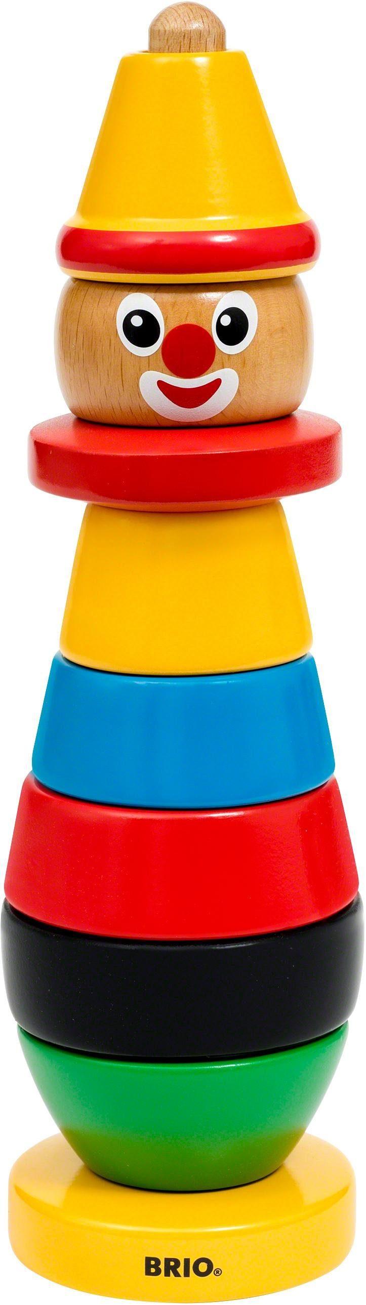 Brio® Stapelspiel aus Holz, »BRIO® Clown«