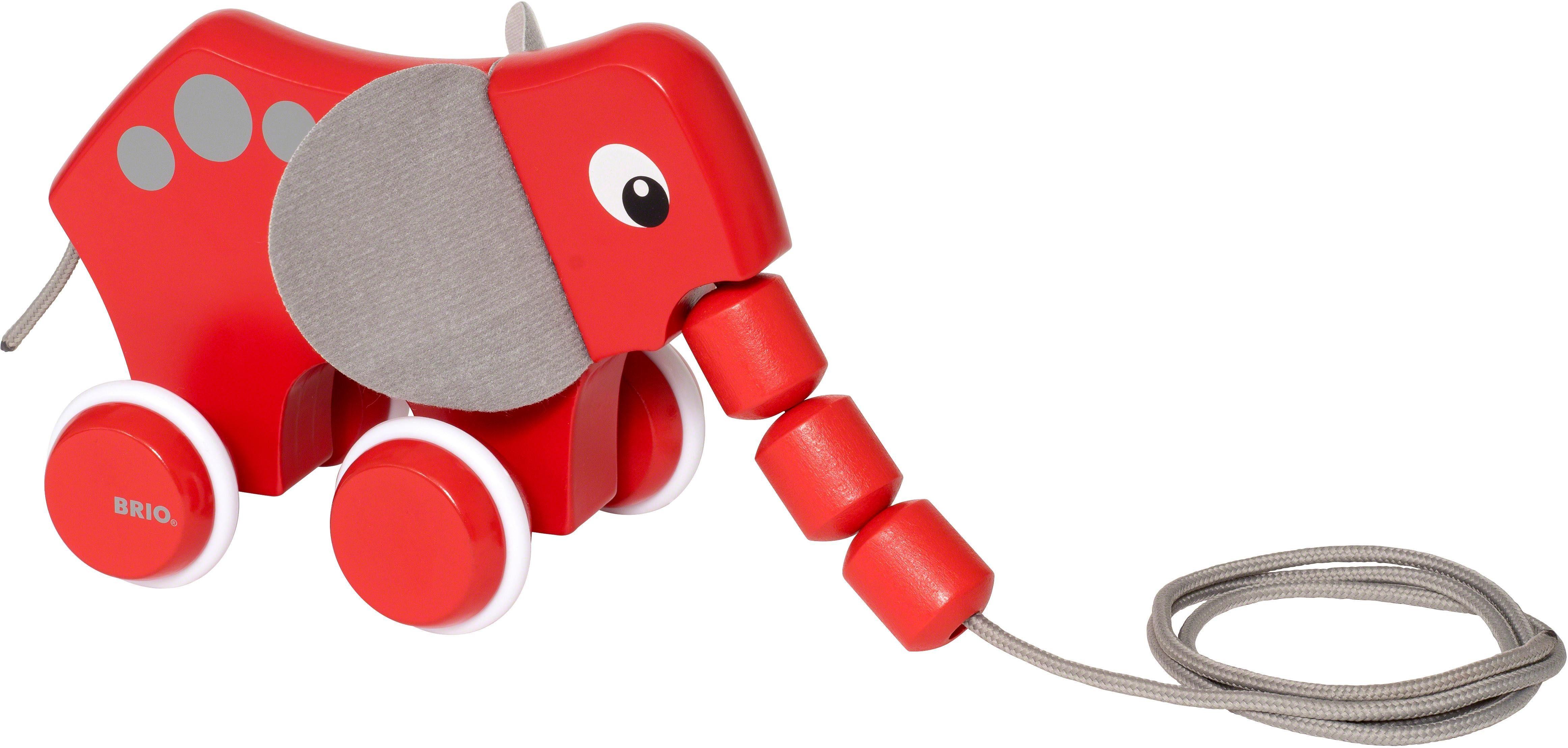 Brio® Nachziehtier aus Holz, »Nachzieh-Elefant«