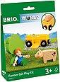 BRIO® Spielzeug-Eisenbahn »BRIO® WORLD Spielpäckchen Bäuerin mit Schwein«, Bild 4