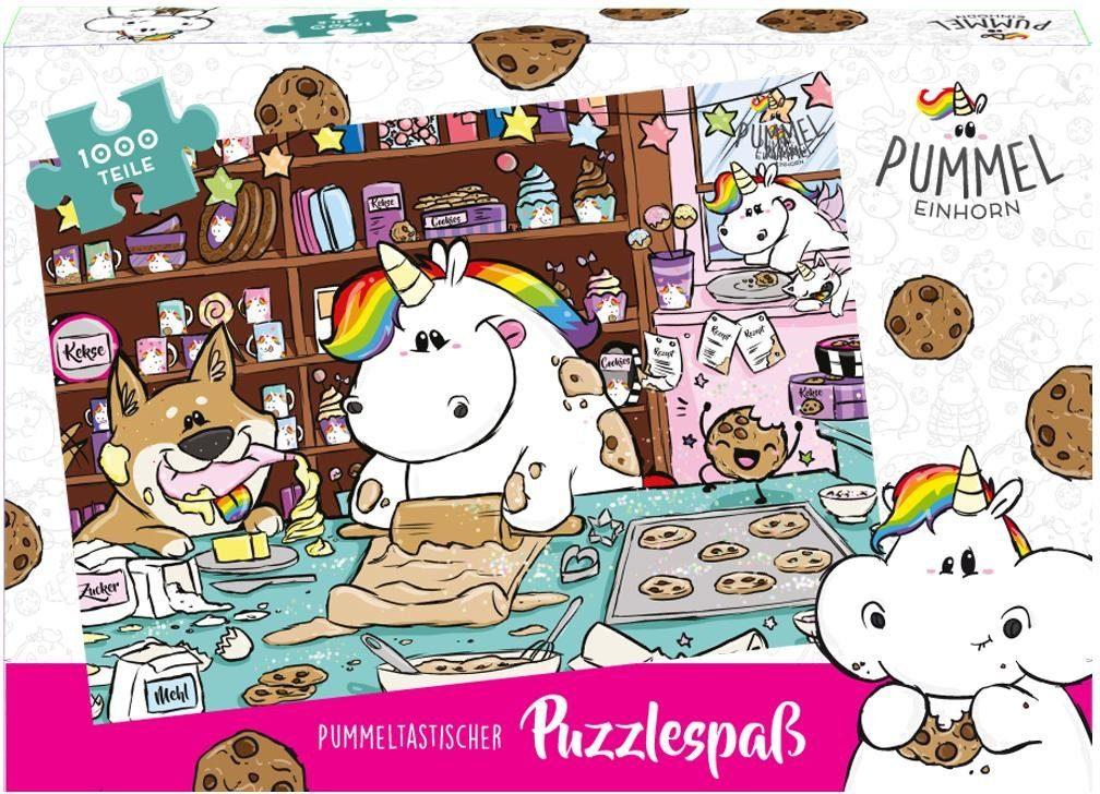 United Labels Puzzle, 1000 Teile, »Pummeleinhorn, Bäckerei«