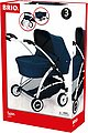 BRIO® Puppenwagen »Spin, blau«, mit Schwenkrädern, Bild 10