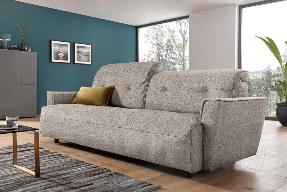 Hülsta Sofa 4-Sitzer »hs.400«, Mit Rückenverstellung