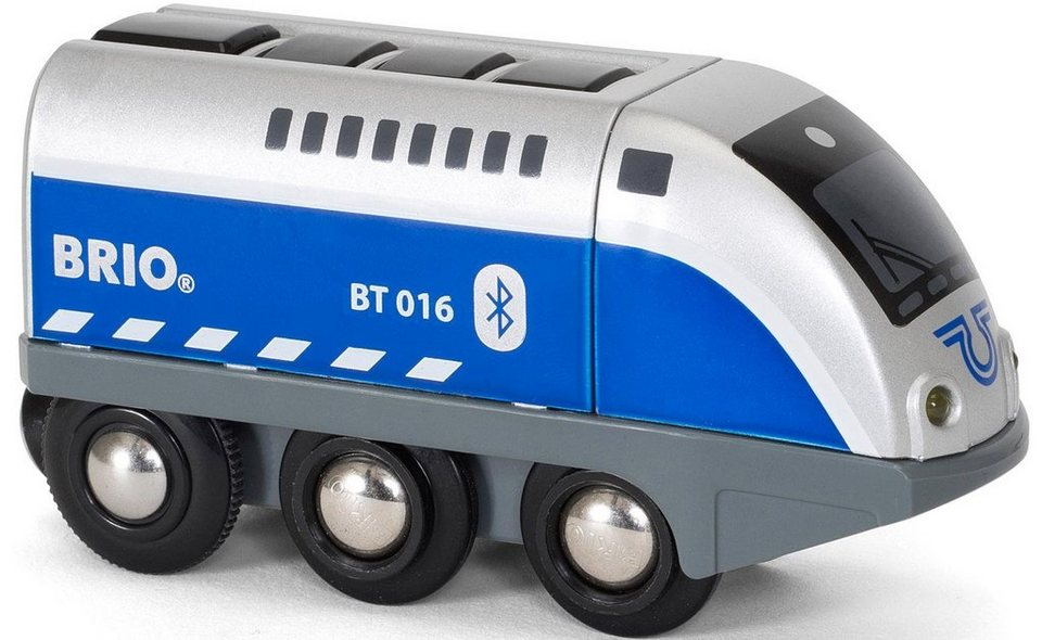 Brio® Lokomotive,  BRIO® WORLD Batterielok Blauer Oskar mit APP Steuerung  online kaufen