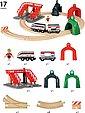 BRIO® Spielzeug-Eisenbahn »BRIO® WORLD Großes Smart Tech Reisezug Set mit Action Tunnels«, (Set), Bild 5
