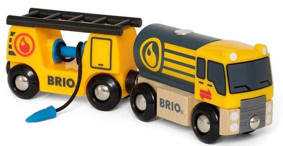 BRIO® Spielzeug-LKW »BRIO® WORLD Tankwagen mit Anhänger«, für Spielzeugeisenbahn