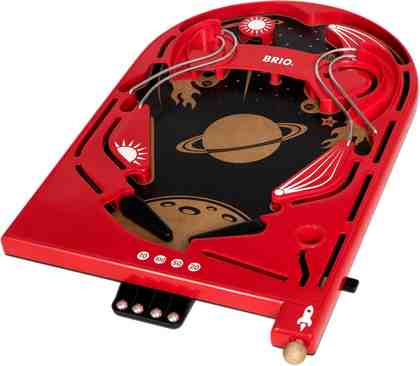 Brio® Geschicklichkeitsspiel aus Holz, »Holz-Flipper Space Safari«