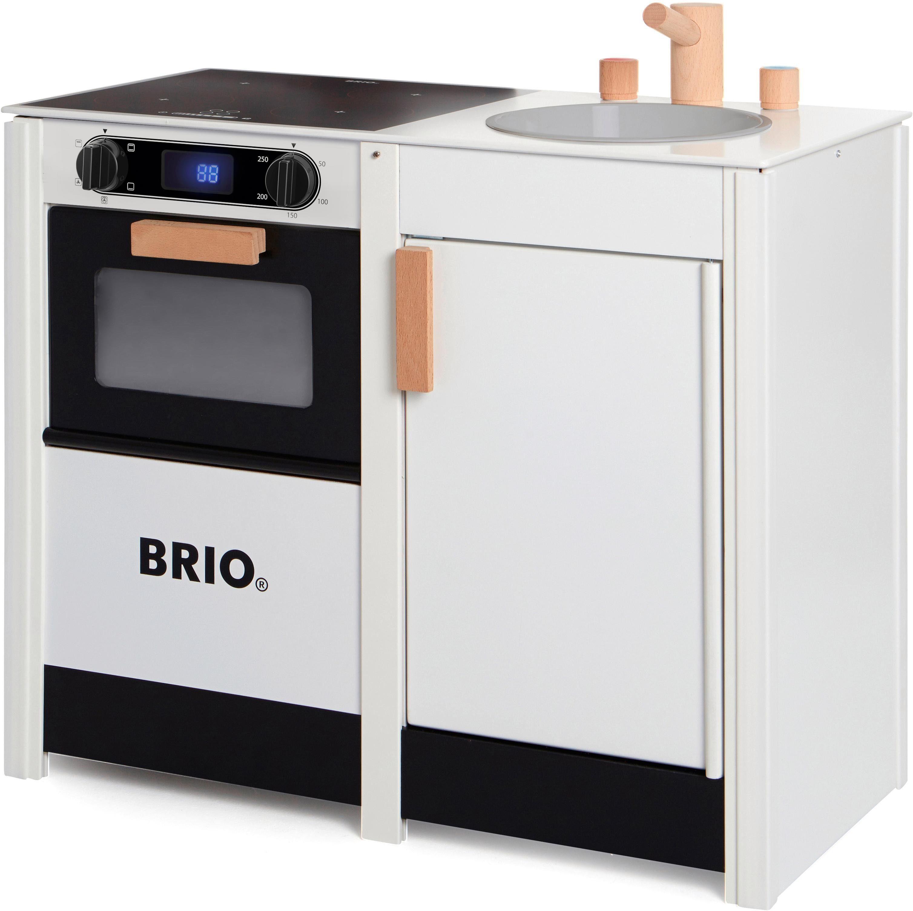 Brio® Kinderküche aus Holz, »Küchenkombi mit Herd und Spüle«