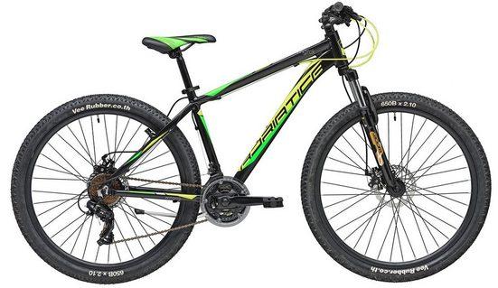 Adriatica Mountainbike »RC-K«, 21 Gang Shimano TY500 Schaltwerk, Kettenschaltung