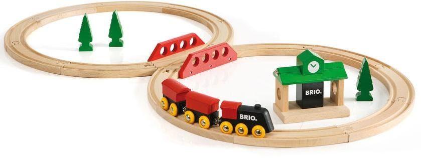 Brio® Holzeisenbahn Set, »BRIO® Bahn Acht Set - Classic Line«