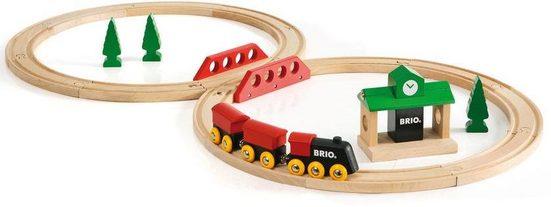 BRIO® Spielzeug-Eisenbahn »BRIO® Bahn Acht Set - Classic Line«, (Set)