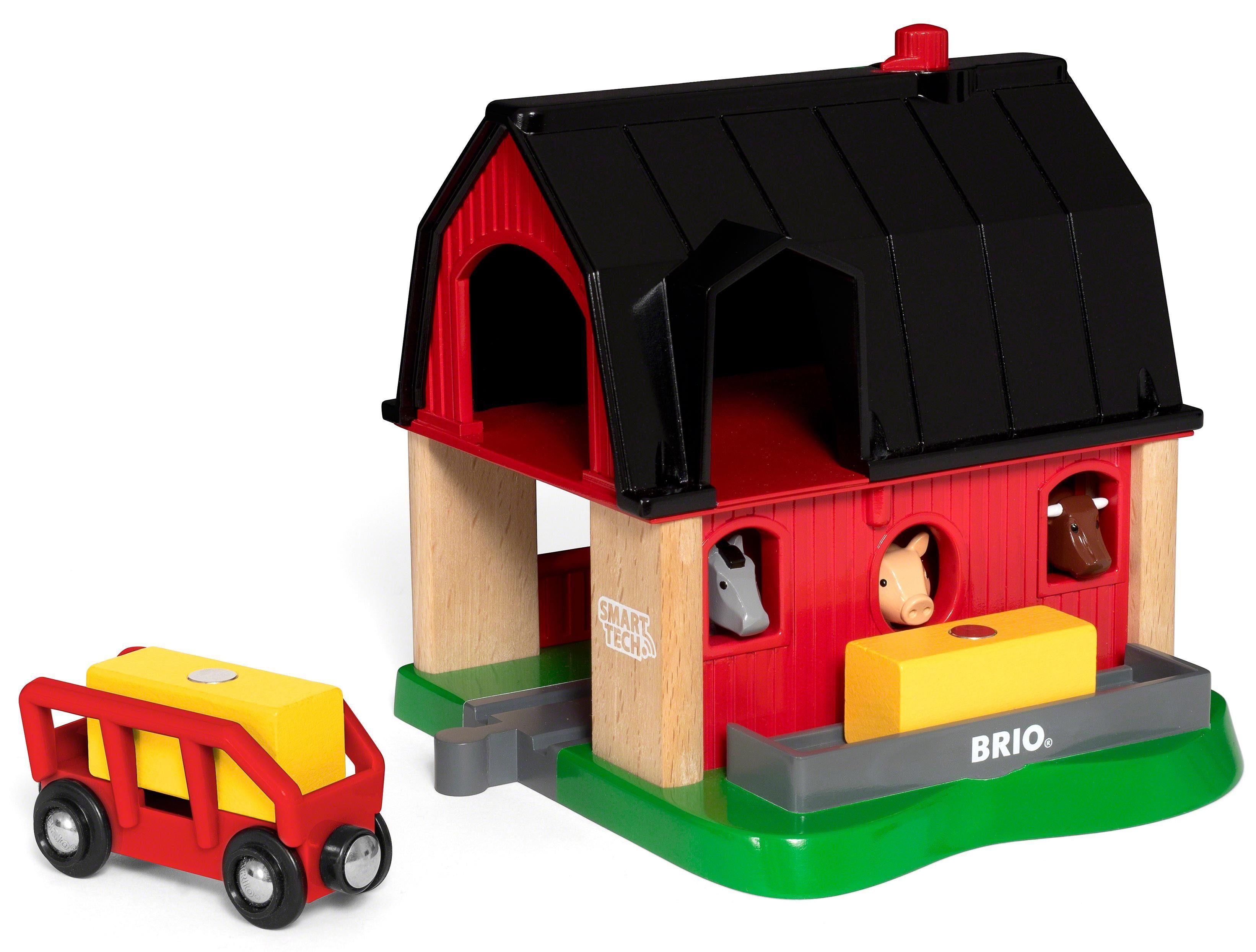 Brio® Zubehör für Spielzeugeisenbahn, »BRIO® WORLD Smart Tech Bauernhof«